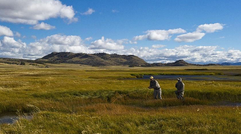 Cinco Rios Spring Creek Chile Patagonia FLy Fishing