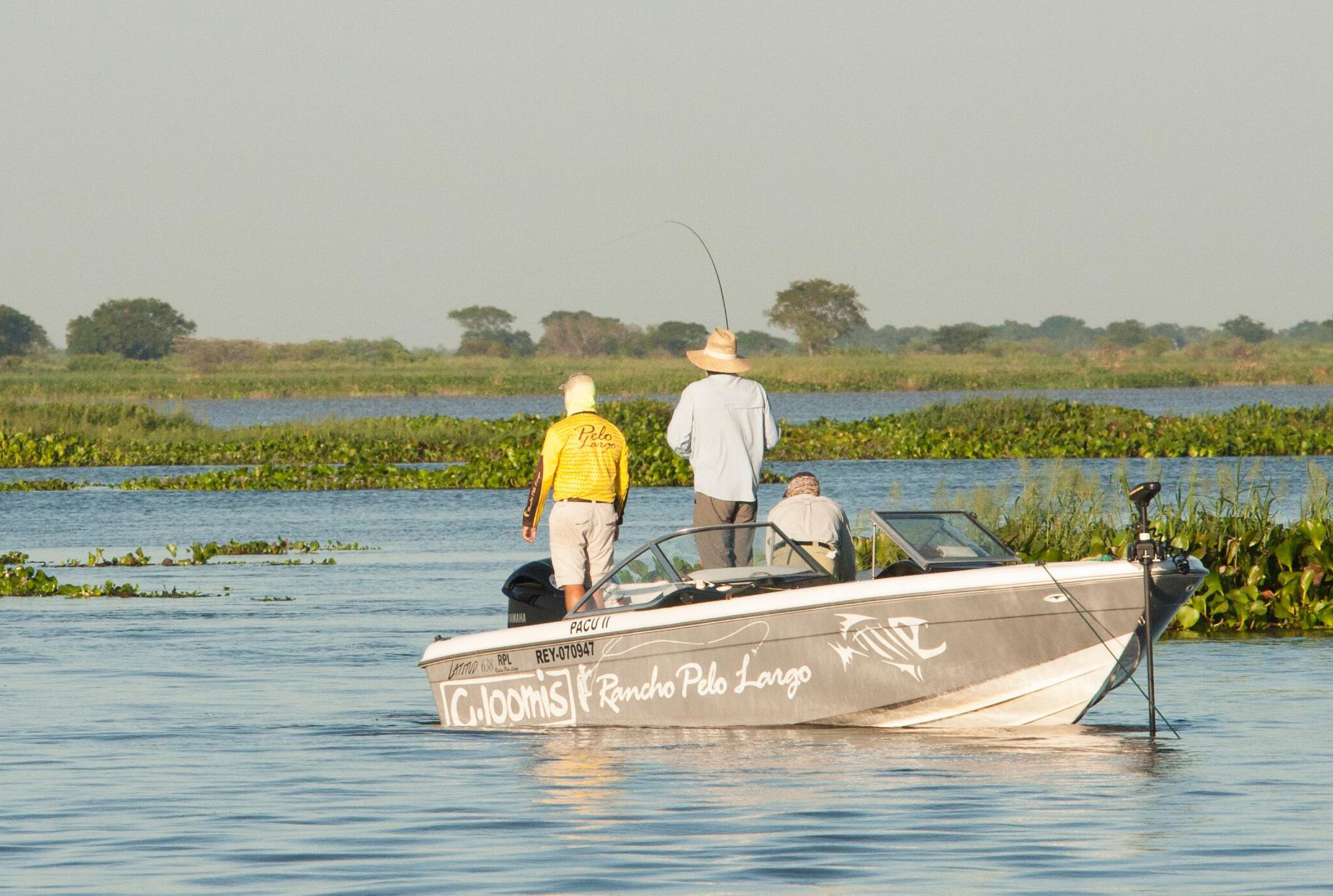 Dorado Boat Argentina Fly Fishing
