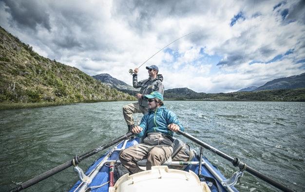 Laguna Campamento Estancia Rio Frio Argentina Fly Fishing