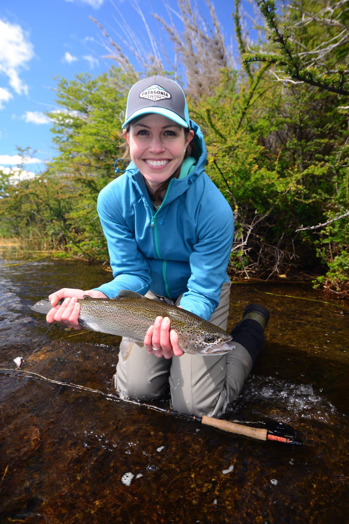 Tracy Matthews Lago Rosario Lodge Rainbow