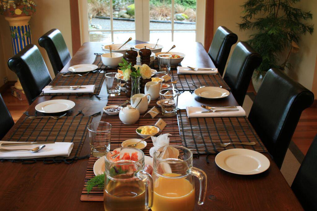 Owen River Lodge NZ Breakfast