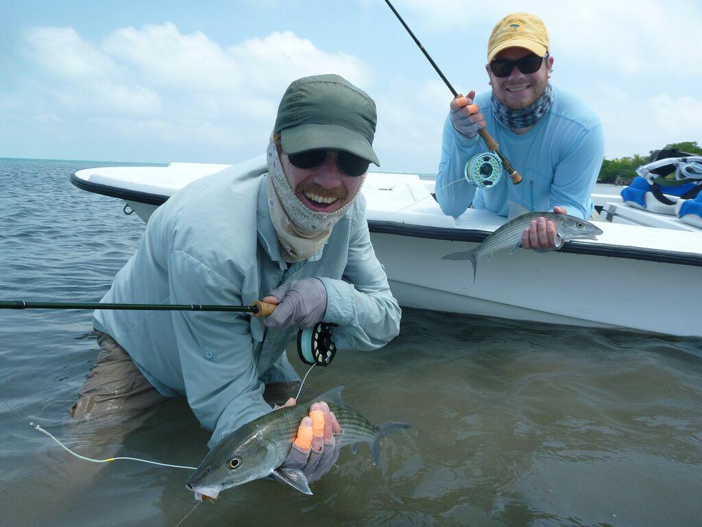 Belize bonefish fly fishing destination