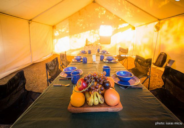Dining Tent PRG Unplugged Float Trips