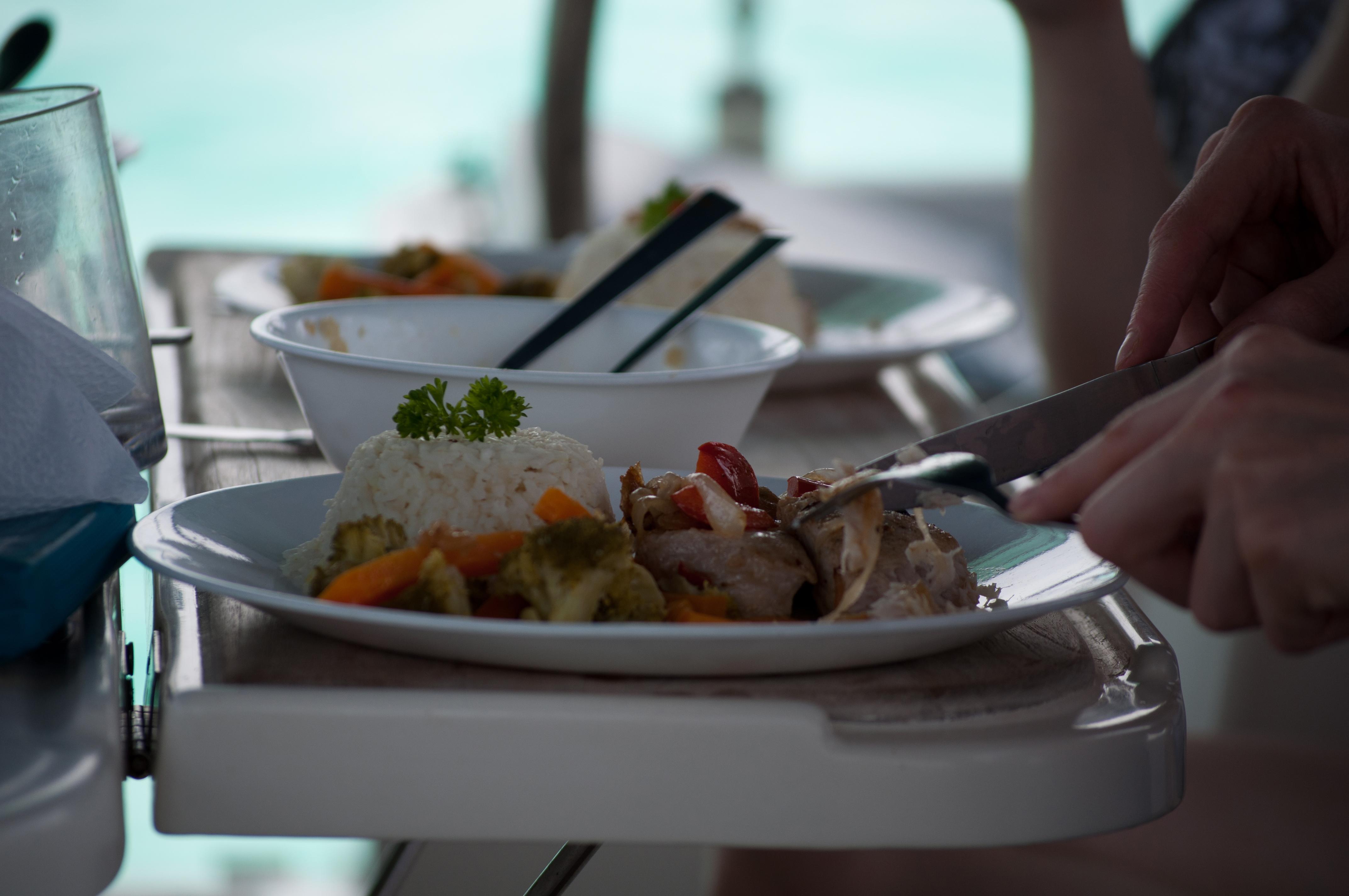 Los Roques Bonefish Club Food