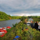 Kamchatka Wilderness Float Trip Camping
