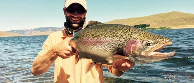 Argentina Rainbow Trout Fly Fishing Rio Pico