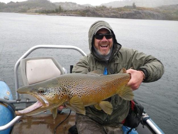 Cinco Rios Big Brown Trout