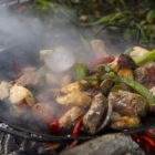 Cinco Rios Camp Lunch