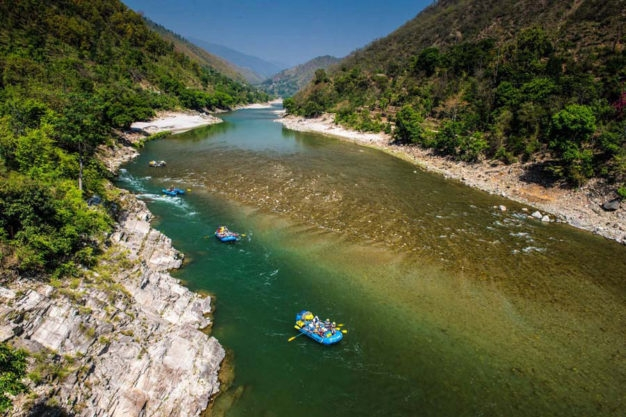 Flyfishing Float Trip Saryu River