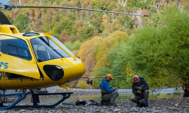 Helicopter Fly Fishing Chile Patagonia