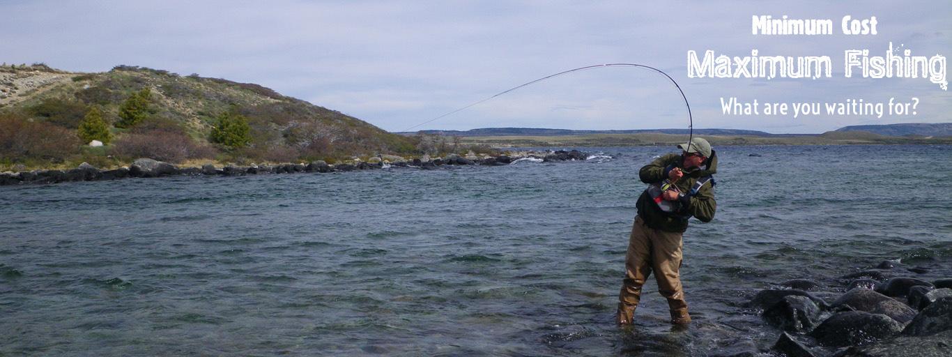 Lago Vinter fly fishing