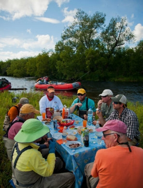 Kamchatka Wilderness Float Trip Meals Fly Shop