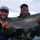 Lago 3 fly fishing Rio Pico Argentina