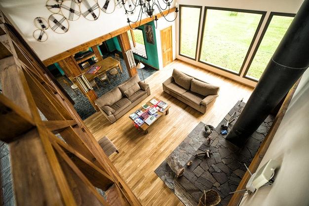 Lago Rosario Lodge Main Lounge
