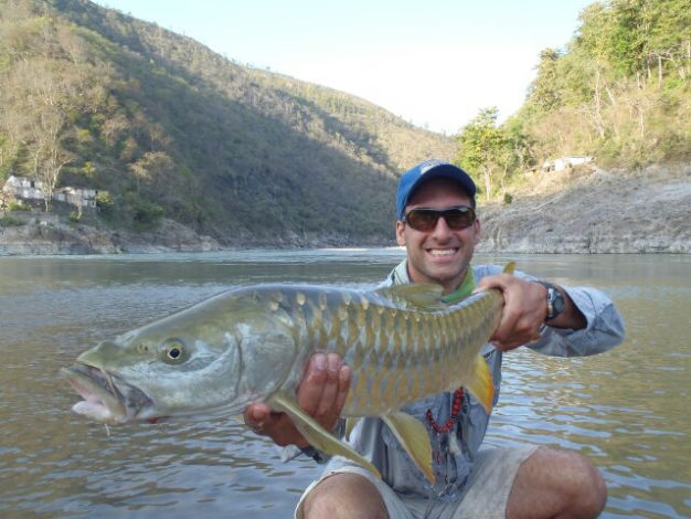 Mahseer on the fly