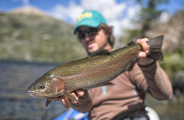 Patagonia Fly Fishing Lodge Nico Fliess
