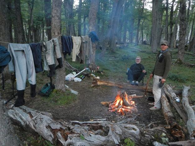 Trout Bum Camping Patagonia