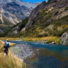 Dry Fly River Fishing New Zealand