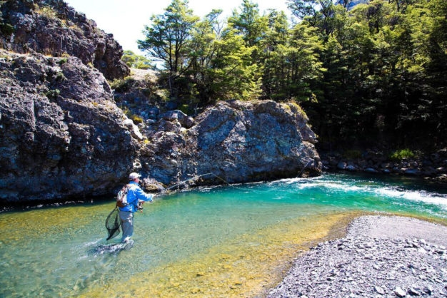 Flyfishing New Zealand Rivers