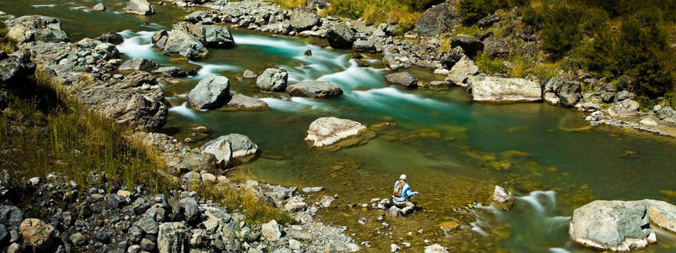 Flyfishing South Island New Zealand