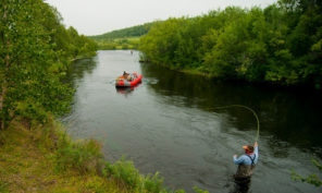 Kamchatka Wilderness Float Trip Fishing