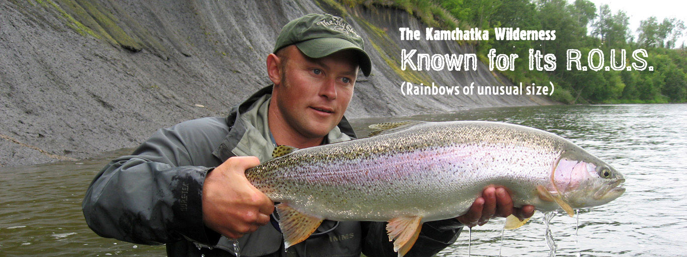 Size of Kamchatka Rainbows