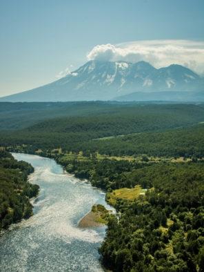 Zhupanova River Aerial