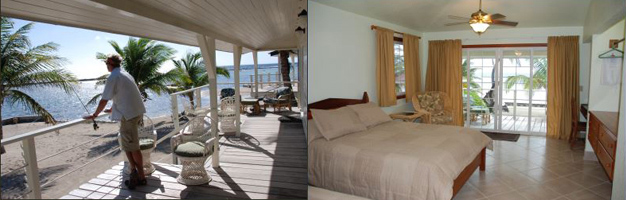 Beach Cabanas Turneffe Flats