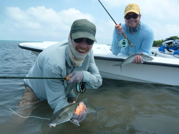 Belize bonefish fly fishing destination