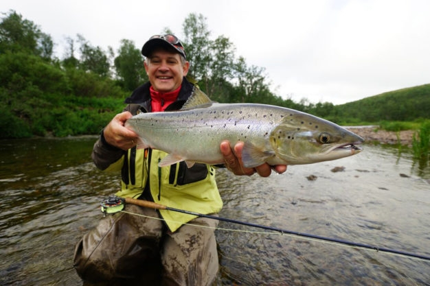 Belousiha River Salmon Fishing