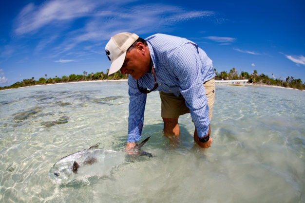 How to catch a permit on the fly