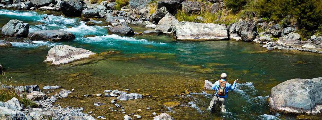 New Zealand Flyfishing Rivers