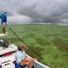 Palometa Club Guide Poling Boat