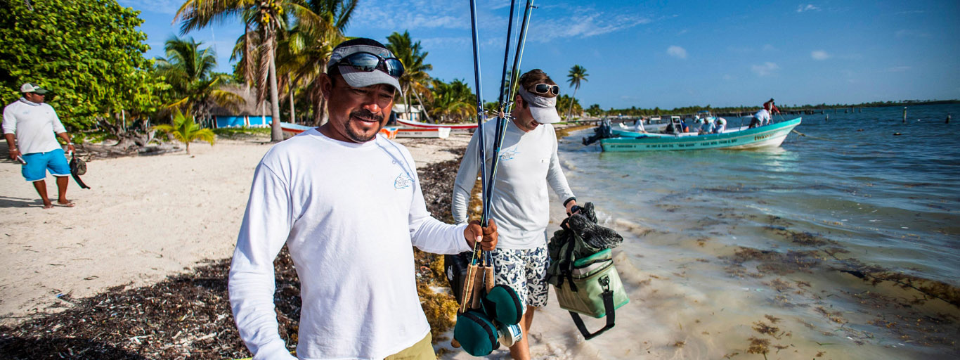Palometa Club Permit Fly Fishing Lodge