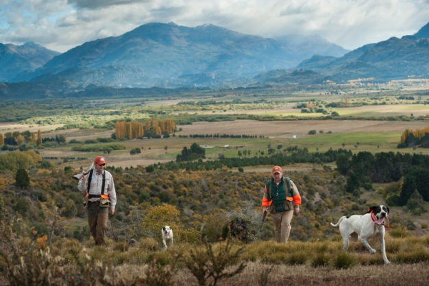 Patagonia River Guides Quail Hunting