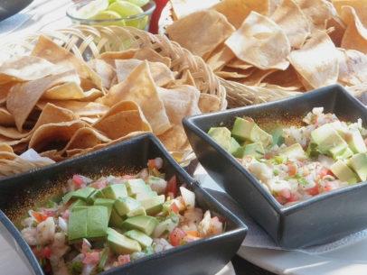 Bahia de Los Suenos Food