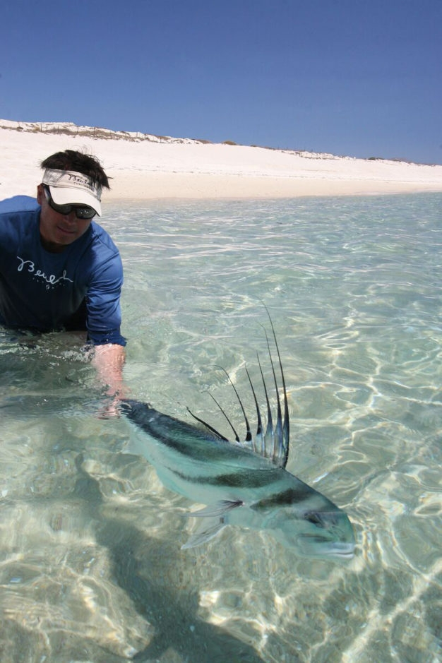 How to catch roosterfish
