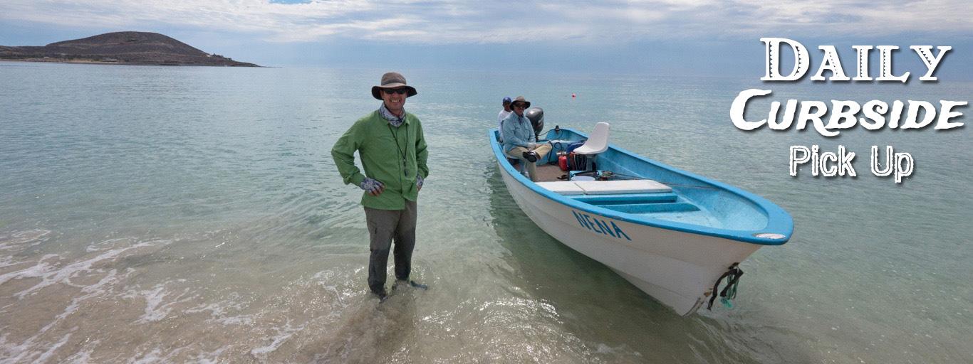 Roosterfish Guide Baja California panga
