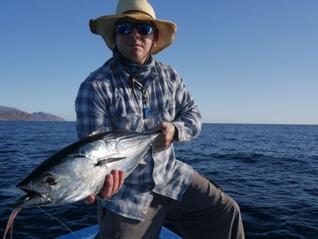 baja tuna fly rod
