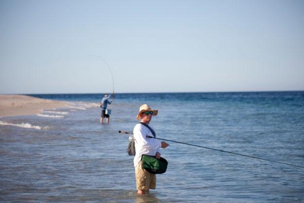 beach fishing baja