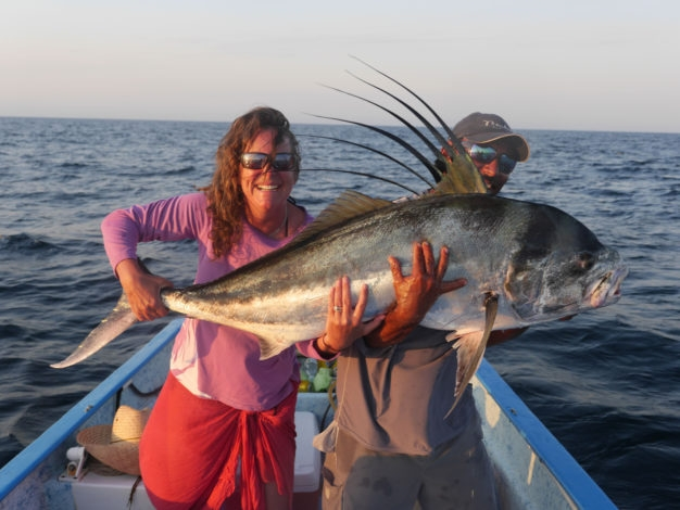 biggest roosterfish