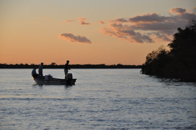 Flyfishing Rio Parana