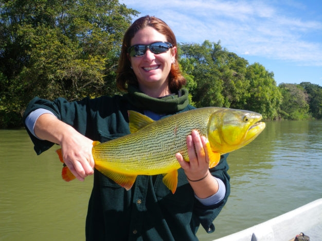 Pinti Dorado Fly Fishing Parana