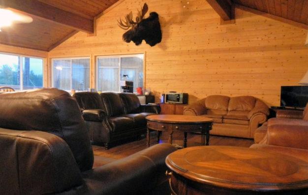 Aniak River Lodge Dining Lounge
