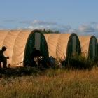 Aniak River Lodge Tent Camp Upstream