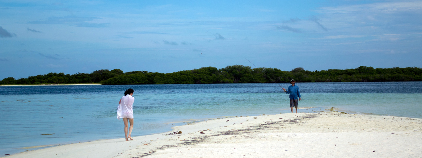 Los Roques Bonefish family vacation fly fishing sailboat tours