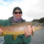 Argentina Brown Trout Flyfishing Rio Pico Trout Bum