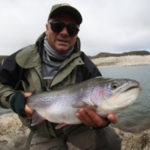 Jurassic Lake Rainbow Fly Fishing Argentina from Australia