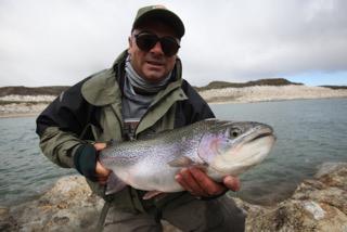 Jurassic Lake Rainbow Fly Fishing Argentina from Australia
