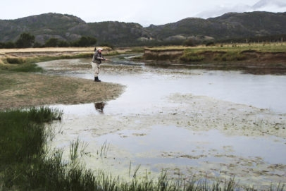 Tres Leones Pube Fly Fishing rio pico